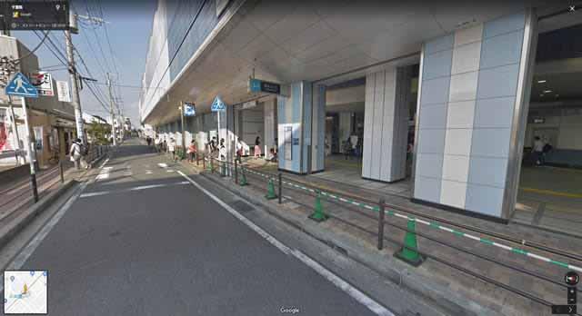 妙典駅・南口